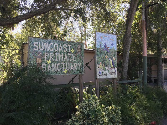 Suncoast Primate Sanctuary Entrance
