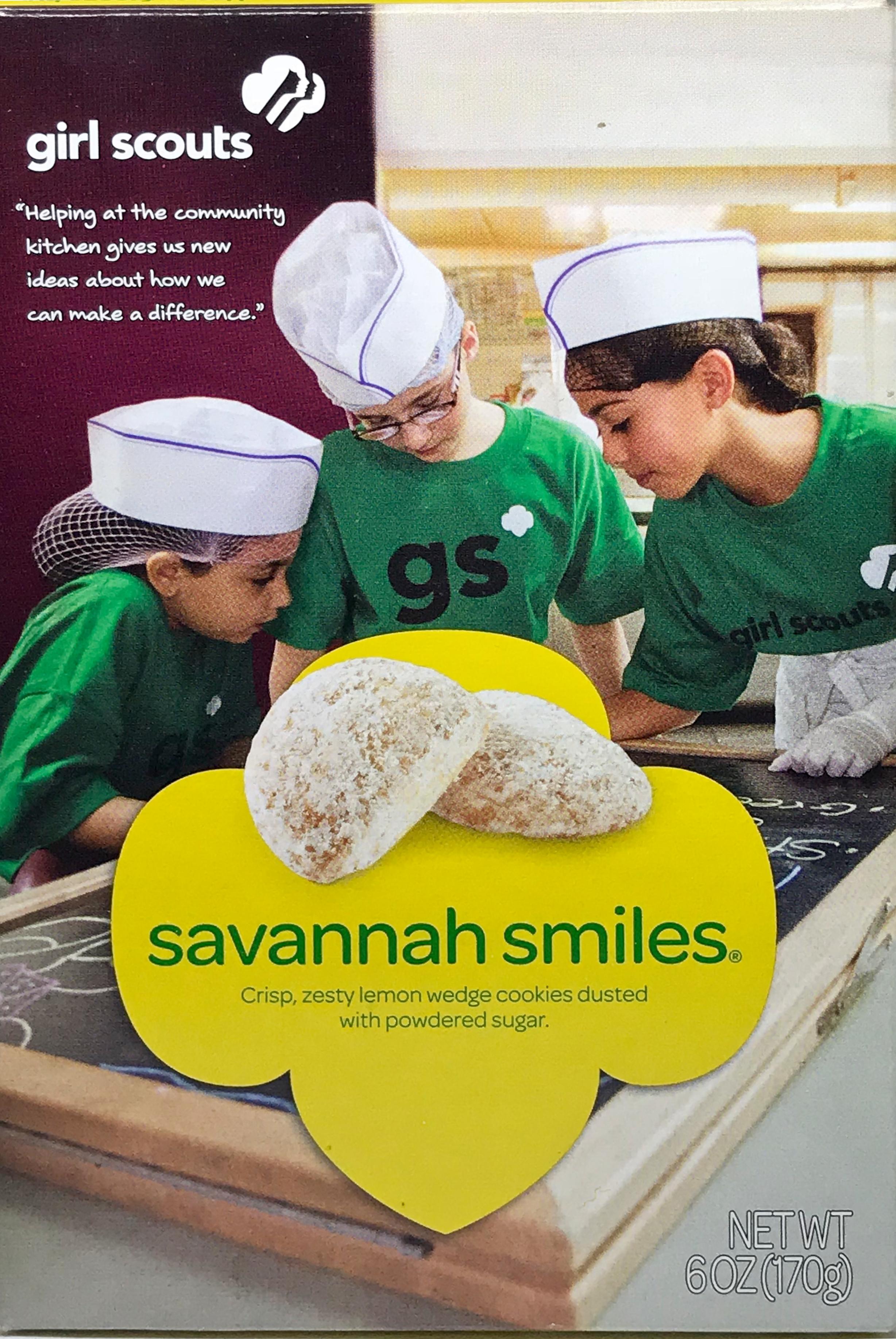 Girl Scout Cookies - Savannah Smiles